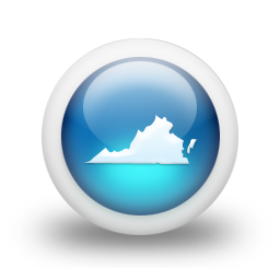 021995-3d-glossy-blue-orb-icon-culture-state-virginia