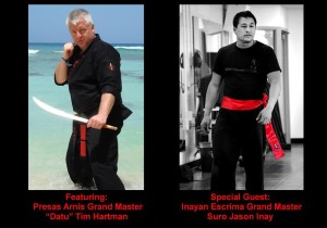 Seminar with Datu Tim Hartman and Suro Jason Inay @ Los Gatos | California | United States