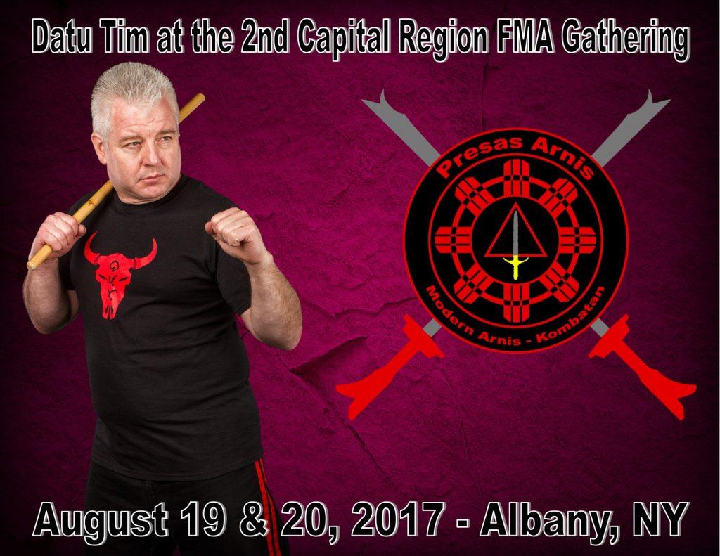 Datu Tim teaches at the 2nd Capital Region FMA Gathering @ Capital District Martial Arts Center | Delmar | New York | United States