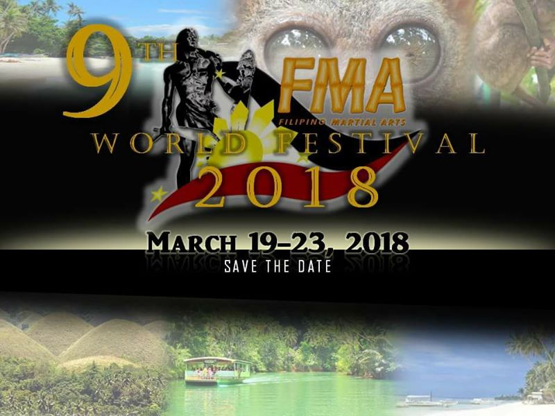 Datu Hartman to teach at the 9th FMA Festival @ Panglao | Central Visayas | Philippines