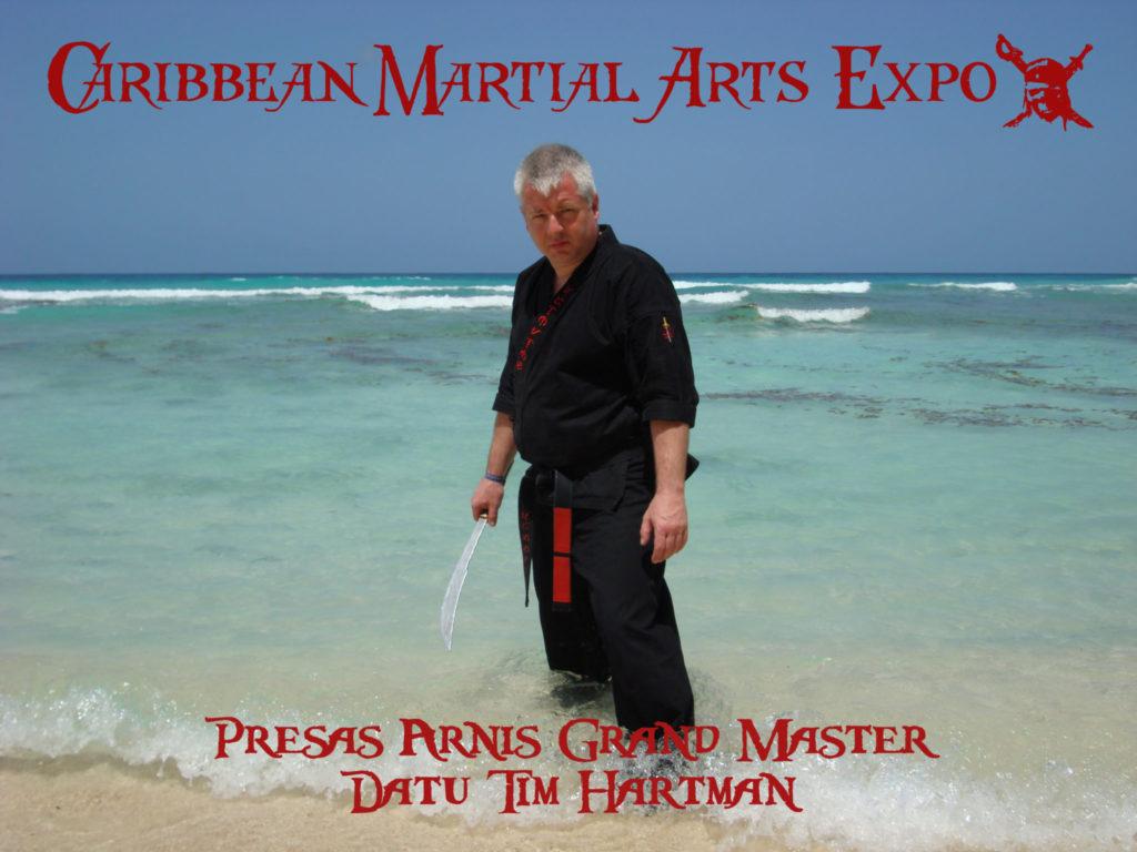 Datu Hartman to Teach at the Carribean Martial Arts Festival