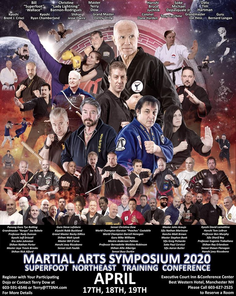 Datu Hartman to teach at the 2020 Martial Arts Symposium @ Best Western Plus Executive Court Inn & Conference Center