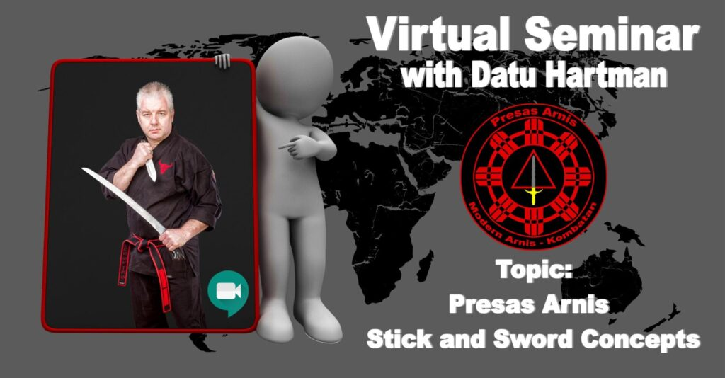 Virtual Sword / Stick & Dagger Seminar @ Online Training