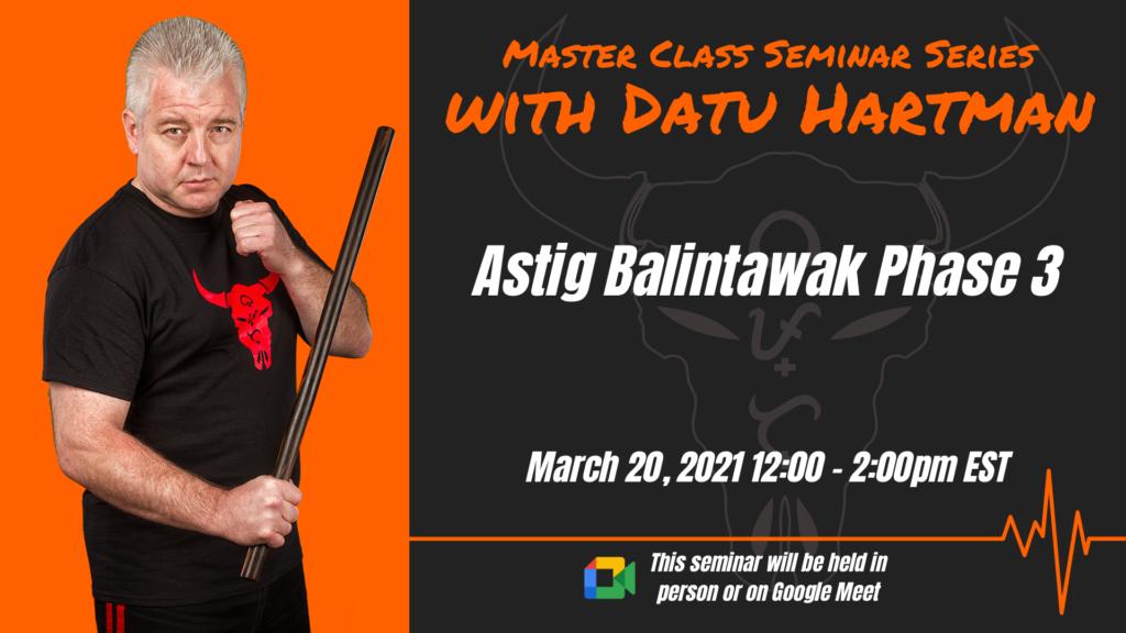 Astig Balintawak Seminar Phase 3 @ Horizon Martial Arts