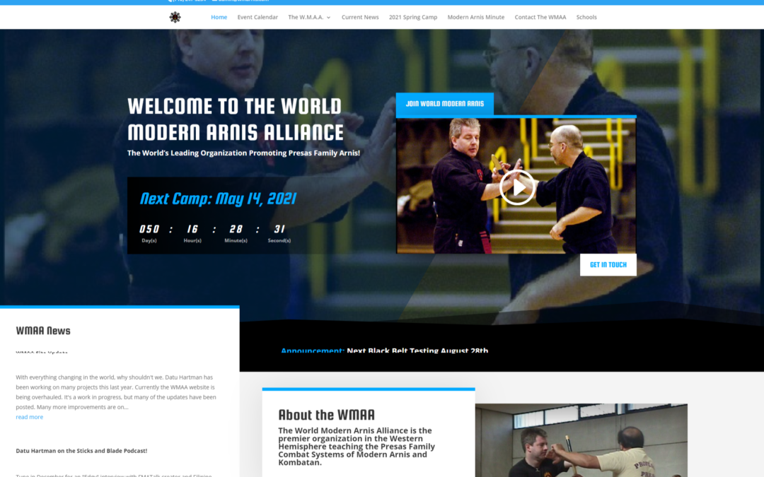 WMAA Site Update